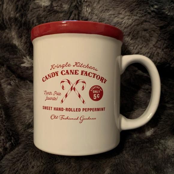 Kringle Kitchen Candy Cane Factory Mug 🎄🎅